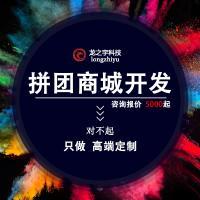 拼团小程序app商城开发定制分销源码同城社区微信公众号模板制作