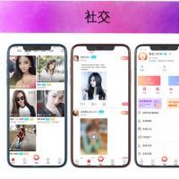 app应用开发团队交友直播app一对一语音全套源码