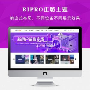 WordPress Ripro8.7官方正版主题授权版本提供授权码